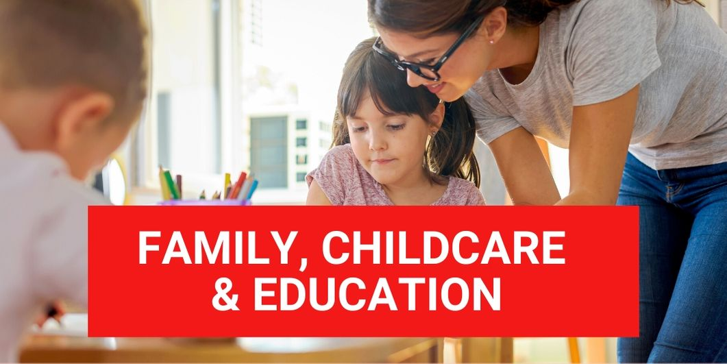 Family, Childcare & Education ©iStock/Lordn
