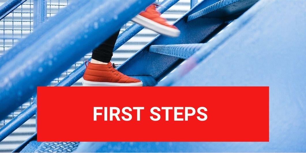 First Steps ©pixabay.com