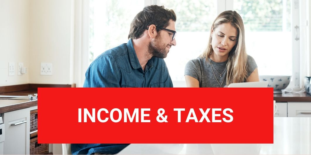 Income & Taxes ©iStock/shapecharge