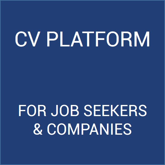 CV Platform for job seekers and companies